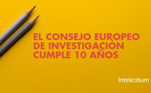 El consejo europeo de investigación cumple 10 años
