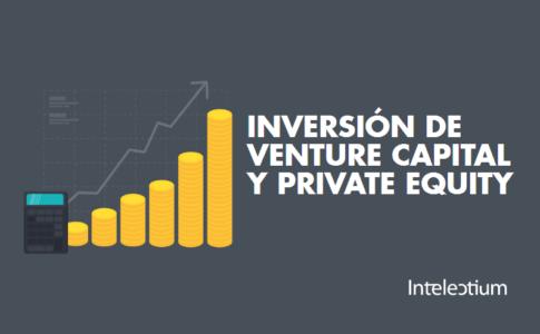 El volumen de inversión de Venture Capital y Private Equity
