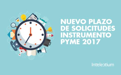 Nuevo plazo de solicitudes de Instrumento Pyme